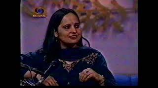 Sunanda Sharma interview at Doordarshan Indian Classical Music