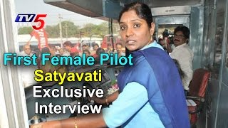 Satyavati - First Female Loco Pilot From South India - Int..