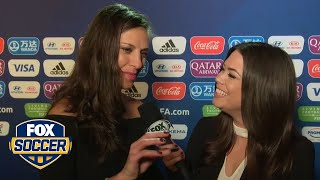 Carli Lloyd on USWNT's FIFA Women's World Cup™ draw: 'It's going to be challenging' | FOX SOCCER
