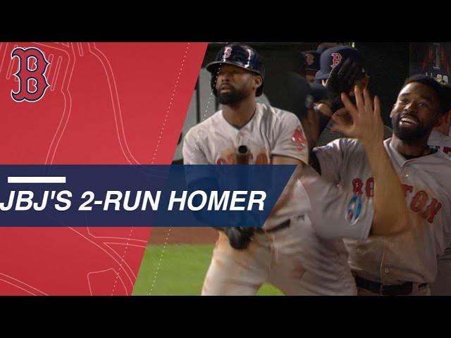 MLB/又是他! JBJ關鍵兩分砲助紅襪逆轉聽牌
