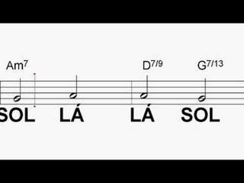 Aprenda Sax - Exercício 1.2 sem Saxofone