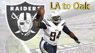 Film Study: Corey Liuget 3-Tech 43 Defense Oakland Raiders