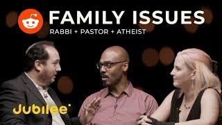 Rabbi, Pastor & Atheist Debate Telling Children Santa is Real