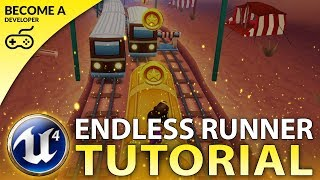 Creating a MOBILE Endless Runner Platformer Game With Unreal Engine 4 - For Beginners!