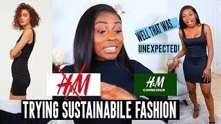 I TRIED SUSTAINABLE FASHION OPTIONS WITH UNEXPECTED RESULTS...YOU DECIDE!