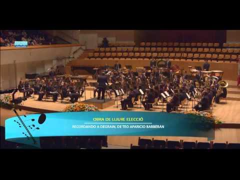 Sociedad Instructiva del Obrero Agrícola y Musical de Benimámet - 2ª Sección 39º Certamen Provincial de Bandas de Valencia