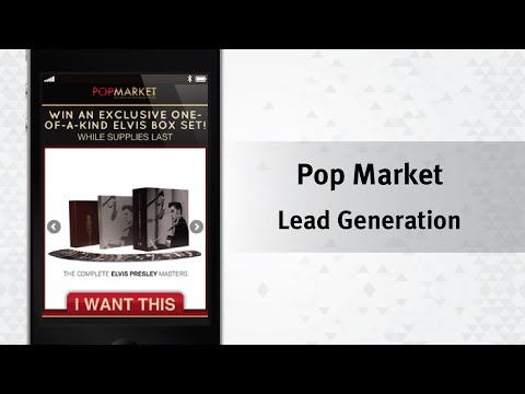 Social Performance Marketing Example - Sony POPmarket