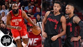 Can Trail Blazers advance past James Harden, Rockets? | The Jump