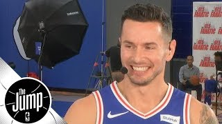 JJ Redick explains why we should calm down about Simmons' & Fultz's shooting | The Jump | ESPN