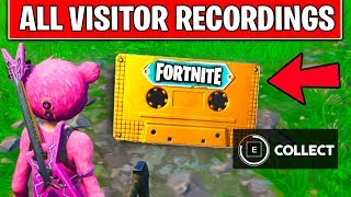 COLLECT THE VISITOR RECORDING - Moisty Palms, Greasy Grove, Floating Island, Retail Row Location