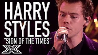 HARRY STYLES Performs 'Sign Of The Times' On X Factor 2017! | X Factor Global