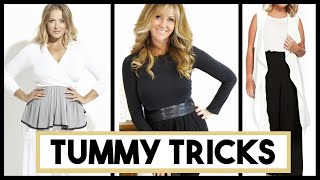 10 Styling Tips To Help Hide Your Tummy | Conceal Dreaded Belly Fat!