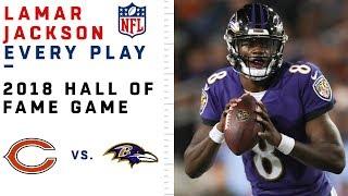 Every Lamar Jackson Play in NFL Debut | Bears vs. Ravens | NFL Highlights