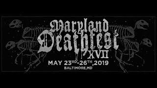 "BENEDICTION ""Full Set in Maryland Deathfest XVII"" May./25/2019"