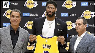 Anthony Davis Full Introduction - Los Angeles Lakers