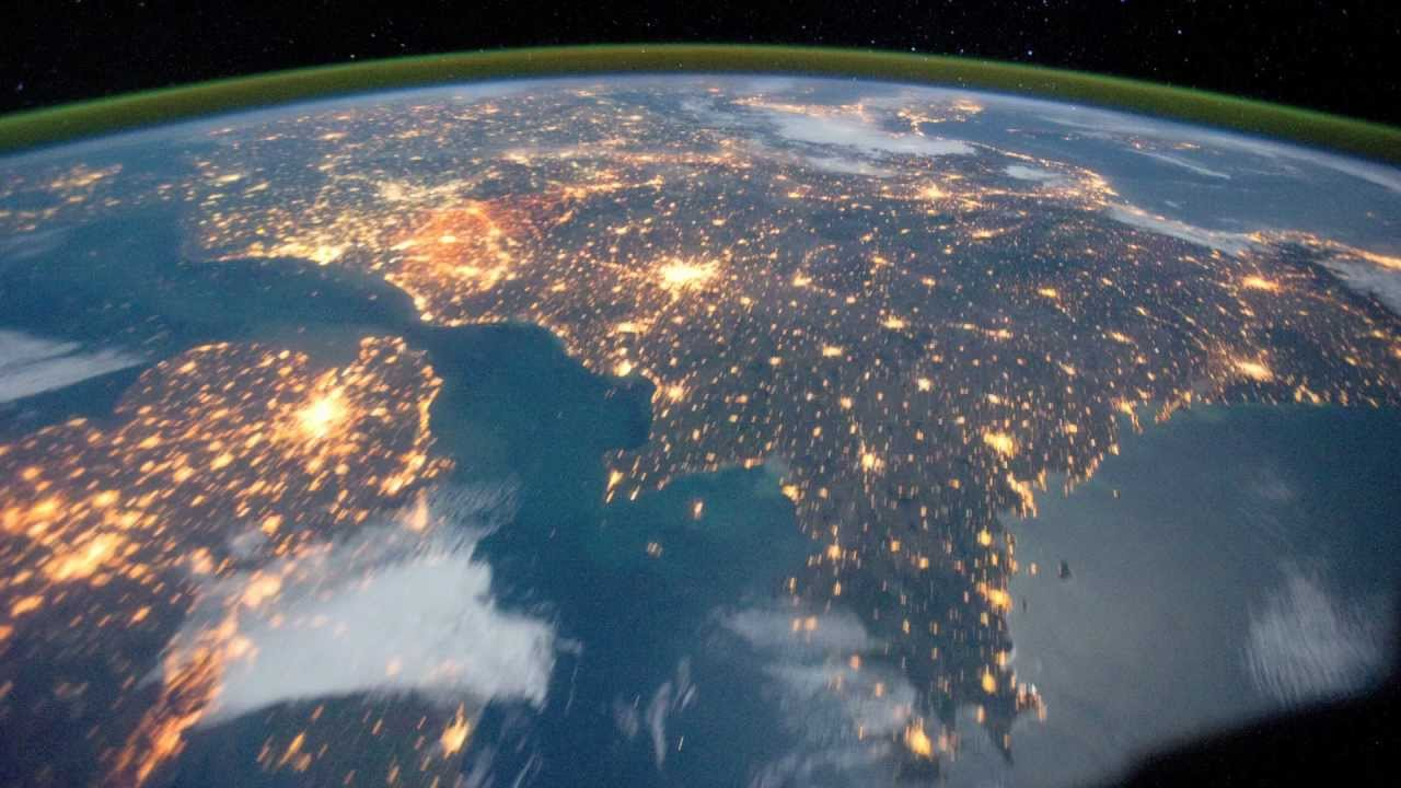The View from Space - Earth's Countries and Coastlines ...