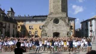 Flashmob en un campamento de inglés