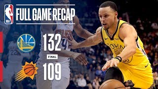 Full Game Recap: Warriors vs Suns   Curry Leads GSW Past PHX