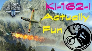 World of Warplanes - Wait, is the Ki-162-I fun?