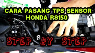RS150R Reset memory database ECU standard secara manual