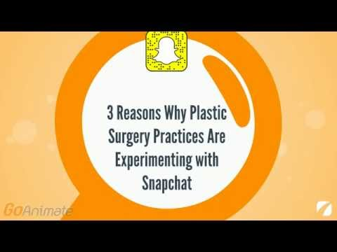 3 Reasons Why Plastic Surgery Practices Are Experimenting with Snapchat