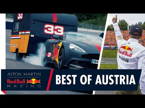 Red Bull Racings Top 8 Austrian Moments