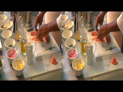 Saltimbocca de veau accompagné de son risotto à la mascarpone et au parmeson