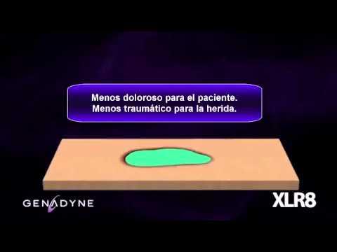 Vídeo Genadyne XLR8 Terapia Presión negativa
