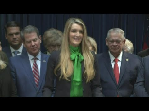 Georgia Gov. appoints Kelly Loeffler to US Senate | Full press conference