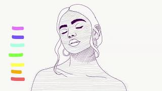 Dive // Digital Drawing Timelapse + Making A GIF