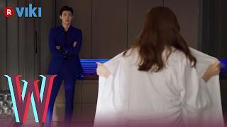 W - EP 3   Han Hyo Joo Flashes Lee Jong Suk
