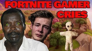 African Rebel Kony HORRIFIES Fortnite Gamer And Makes Him Cry! (LOCATION FOUND)