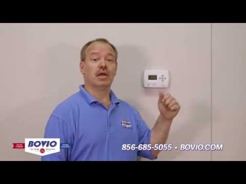 Bovio Web Tips-How to Change A Home Thermostat Battery