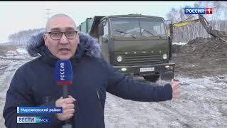 Сегодня в Марьяновском районе завершилась ликвидация незаконного мусорного полигона