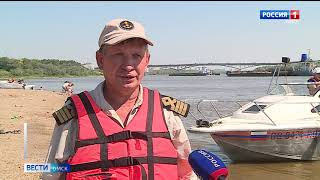 В Омске уже несколько дней держится аномальная жара и уже есть первые жертвы