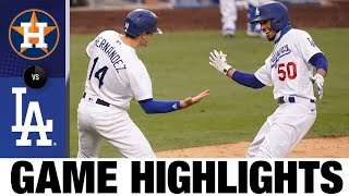 Betts, Taylor, Pollock homer in Dodgers win | Astros-Dodgers Game Highlights 9/13/20