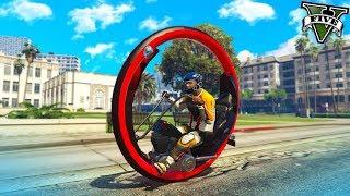 DIVNEJŠIE VOZIDLO som v GTA 5 ešte Nevidel ( Monowheel Mod )