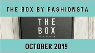 The Box By Fashionsta | October 2019