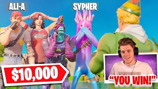 WE WON $3000 IN LACHLAN'S FORTNITE FASHION SHOW WORLD CUP vs ALI-A & SYPHERPK! (FINALS) W/ EVANTUBE