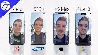 OnePlus 7 Pro vs S10+ vs iPhone XS Max vs Pixel 3 XL - The ULTIMATE Camera Comparison!