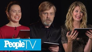 Kids Interview The 'Star Wars: The Last Jedi' Cast With Daisy Ridley, Mark Hamill & More | PeopleTV