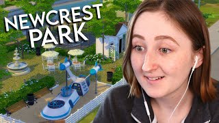 i built a new park for your sims so you don't have to