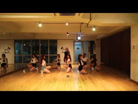 나인뮤지스[9MUSES] - 다쳐(Hurt Locker) 안무 연습영상(Dance practice)