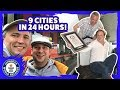 Most capital cities visited in 24 hours!- Guinness World Records