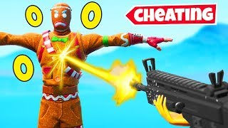becoming INVINCIBLE in fortnite (cheats)