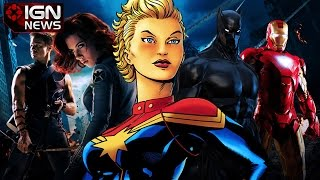 Marvel Announces 9 Movies – IGN News