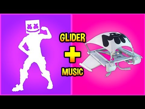 I put Glider Music over my Fortnite Emotes and they sounded like this...!