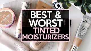 5 BEST & 5 WORST: TINTED MOISTURIZERS / LIGHT Coverage Foundations | Jamie Paige