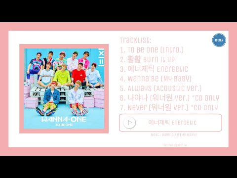 [FULL ALBUM] WANNAONE 워너원 - 1X1=1 TO BE ONE (1st Mini Album)