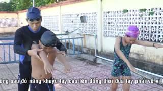 Dạy  bơi daklak - bơi sải cơ bản ( T Hiệu ) 0946 329 428 or 01666124846